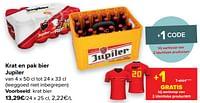Bier jupiler-Jupiler
