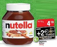Smeerpasta nutella-Nutella