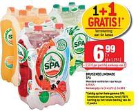 Bruisende limonade spa-Spa