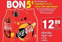 Coca-cola regular, light of zero-Coca Cola