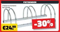 Fietsenrek-Huismerk - Bouwcenter Frans Vlaeminck