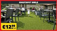 Grastapijt smile-Huismerk - Bouwcenter Frans Vlaeminck