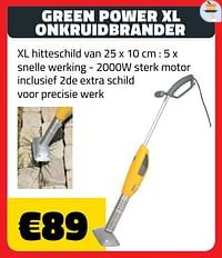 Green power xl onkruidbrander-Huismerk - Bouwcenter Frans Vlaeminck