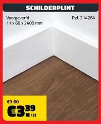 Schilderplint-Huismerk - Bouwcenter Frans Vlaeminck
