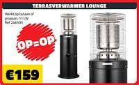 Terrasverwarmer lounge-Huismerk - Bouwcenter Frans Vlaeminck