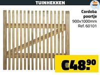 Tuinhekken cordoba poortje-Huismerk - Bouwcenter Frans Vlaeminck