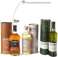 Jura aged 10 years single malt scotch whisky-Jura