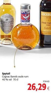 Spytail cognac barrels oude rum-Spytail