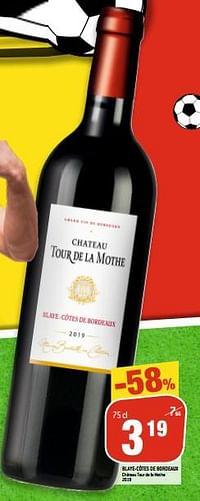 Blaye-cotes de bordeaux-Rode wijnen