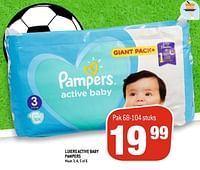 Luiers active baby pampers-Pampers