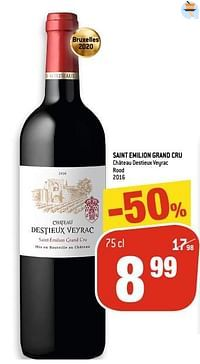 Saint emilion grand cru château destieux veyrac rood-Rode wijnen