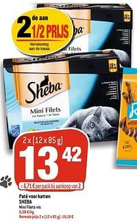 Paté voor katten sheba-Sheba