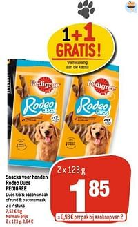 Snacks voor honden rodeo duos pedigree-Pedigree