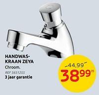 Handwaskraan zeya-AQUA VIVE