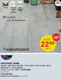 Vinyltegel cw084-DecoMode