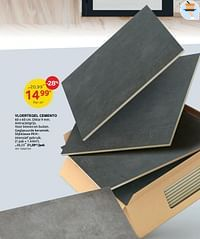 Vloertegel cemento-Huismerk - Brico