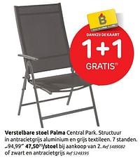 Verstelbare stoel palma-Central Park