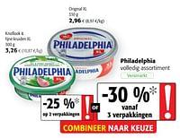 Philadelphia volledig assortiment-Philadelphia