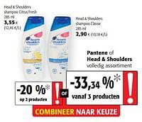 Head + shoulders shampoo citrus fresh-Head & Shoulders