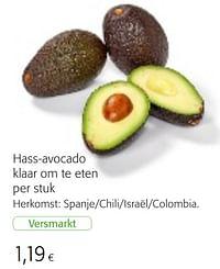 Hass-avocado klaar om te eten-Huismerk - Colruyt