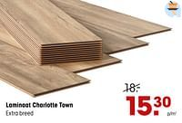 Laminaat charlotte town-Huismerk - Kwantum