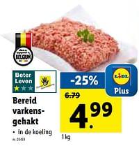 Bereid varkensgehakt-Huismerk - Lidl