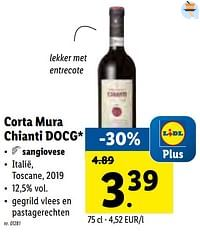 Corta mura chianti docg sangiovese-Rode wijnen