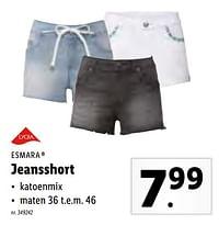 Jeansshort-Esmara