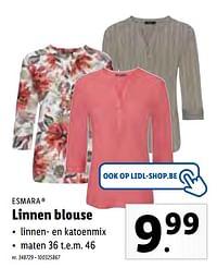 Linnen blouse-Esmara