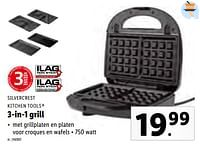 Silvercrest kitchen tools 3-in-1 grill-SilverCrest