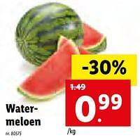Watermeloen-Huismerk - Lidl