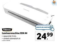 Fellowes lamineermachine ion a4-Fellowes