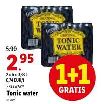 Tonic water-Freeway
