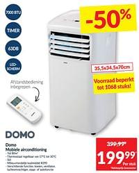 Domo mobiele airconditioning-Domo elektro
