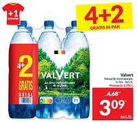 Valvert natuurlijk mineraalwater-Valvert