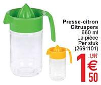 Presse-citron citruspers-Huismerk - Cora