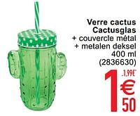 Verre cactus cactusglas-Huismerk - Cora