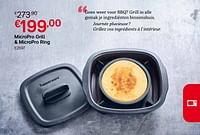 Micropro grill + micropro ring-Huismerk - Tupperware