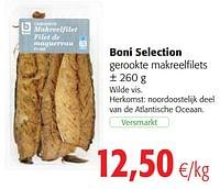 Boni selection gerookte makreelfilets-Boni