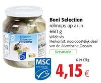 Boni selection rolmops op azijn-Boni