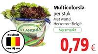 Multicolorsla-Huismerk - Colruyt