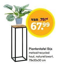 Plantentafel gijs-Huismerk - Leen Bakker