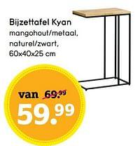 Bijzettafel kyan-Huismerk - Leen Bakker