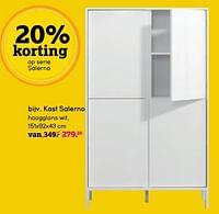 Kast salerno-Huismerk - Leen Bakker