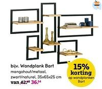 Wandplank bart-Huismerk - Leen Bakker