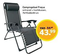 Campingstoel frejus-Huismerk - Leen Bakker