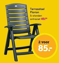 Terrasstoel florion-Huismerk - Leen Bakker