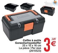 Coffre à outils gereedschapskoffer-Huismerk - Cora