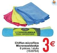 Chiffons microfibre microvezeldoeken-Huismerk - Cora
