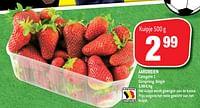 Aardbeien-Huismerk - Match